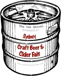 Logo for the Sydney Craft Beer and Cider Fair